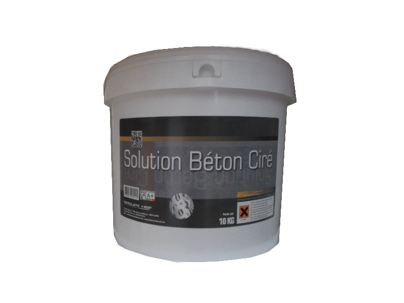 solution beton cire kit 2kg couleurs d 39 antan cpp lopez peintures. Black Bedroom Furniture Sets. Home Design Ideas
