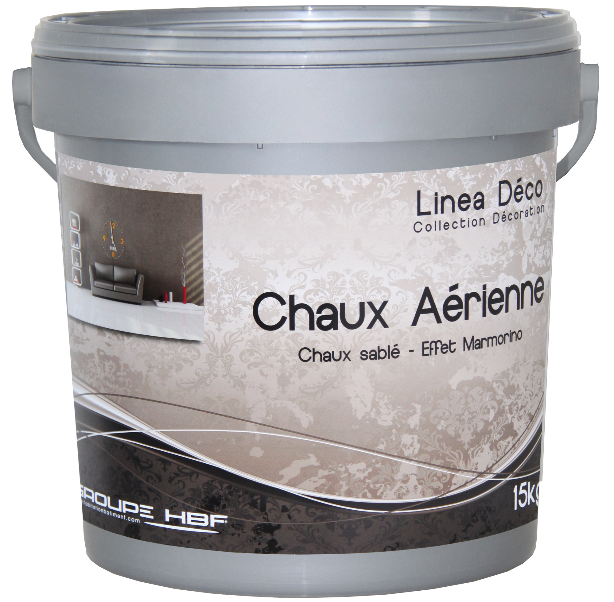 chaux aerienne linea deco 5 kg bb fabrication sas cpp lopez peintures. Black Bedroom Furniture Sets. Home Design Ideas