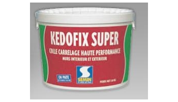 colle carrelage kedofix super en pate 20kg ste semin cpp lopez peintures. Black Bedroom Furniture Sets. Home Design Ideas